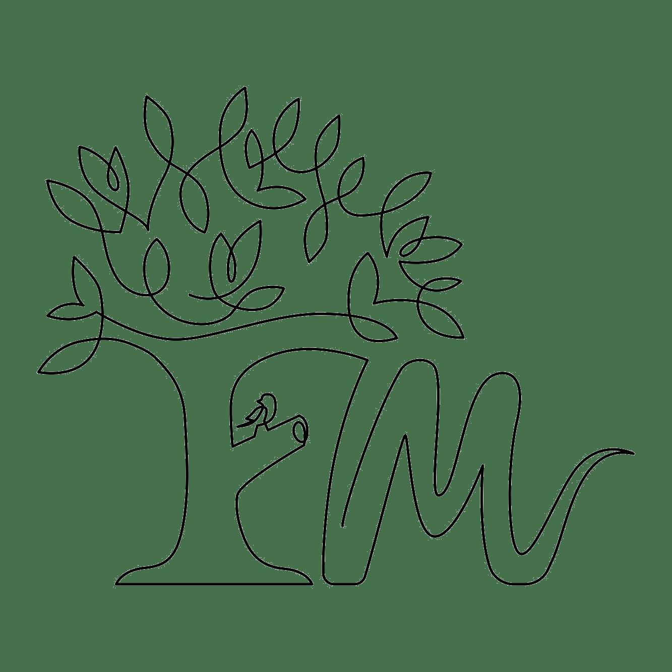OneLineDraw_Logo_FM