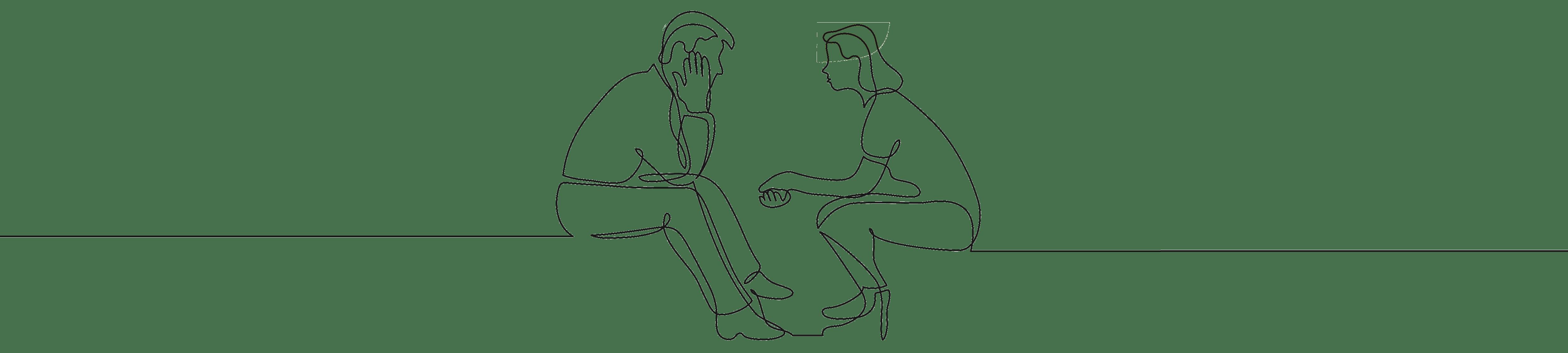 Paar_sitzend